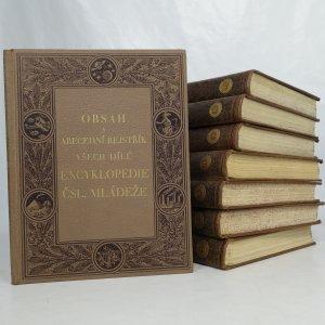 náhled knihy - Encyklopedie československé mládeže pro školu a dům 1.-7. díl plus Obsah a abecední rejstřík všech dílů (8 svazků)