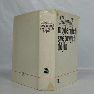 antikvární kniha Slovník moderních světových dějin, 1969