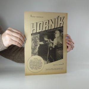 náhled knihy - Horník. Ročník I, číslo 1. (Červen 1945)