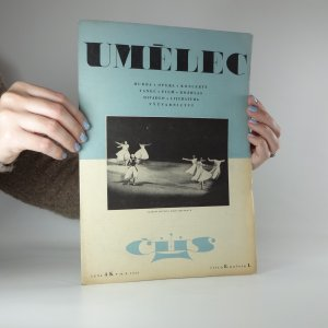 náhled knihy - Umělec. Ročník I, číslo 8 (19.10.1945)