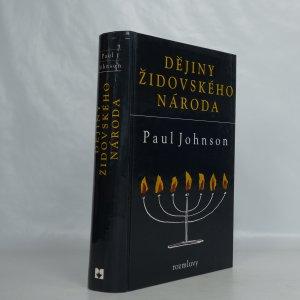 náhled knihy - Dějiny židovského národa