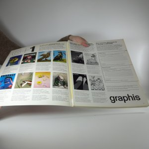 antikvární kniha Graphis. (Kompletní ročník 32, 6 svazků), 1976, 1977