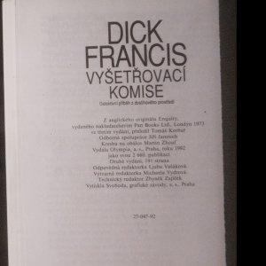 antikvární kniha Vyšetřovací komise, 1992