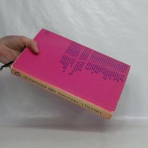 antikvární kniha Olympijské hry novověku. Výsledky, 1974
