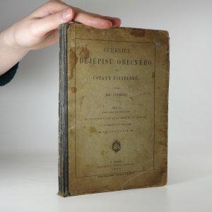 náhled knihy - Učebnice dějepisu obecného pro ústavy učitelské