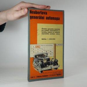 náhled knihy - Neubertova generální automapa (List 4 - Liberec - Svídnice, 1 : 200 000)
