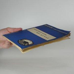 antikvární kniha Tři prózy, 1937