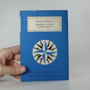 náhled knihy - Prázdná židle a jiné prózy