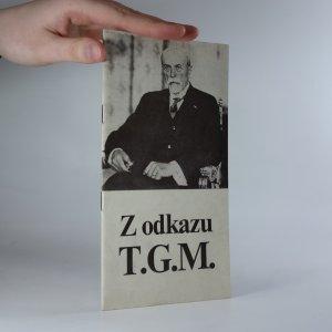 náhled knihy - Z odkazu T. G. M.