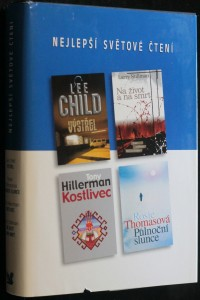 náhled knihy - Výstřel, Na život a na smrt, Kostlivec, Půlnoční slunce