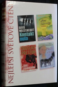 náhled knihy - Kontakt nula, Hotel U Zlomeného srdce, Údolí tyranosaura, Přežít s vlky
