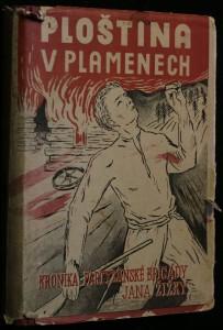náhled knihy - Ploština v plamenech, partyzánská kronika