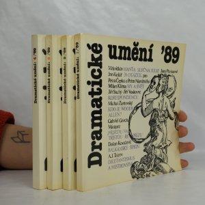 náhled knihy - Dramatické umění ´89, svazek 1-4