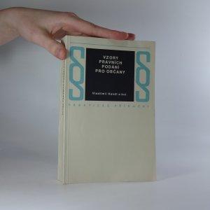 náhled knihy - Vzory právních podání pro občany
