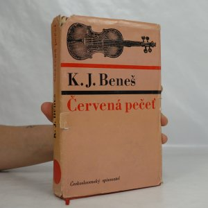 náhled knihy - Červená pečeť