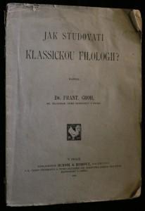 náhled knihy - Jak studovati klassickou filologii?