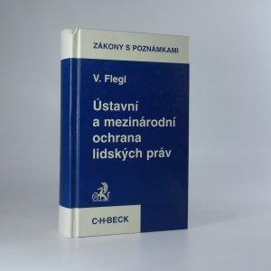 náhled knihy - Ústavní a mezinárodní ochrana lidských práv