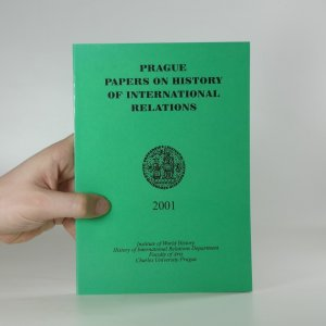 náhled knihy - Prague papers on history of international relations