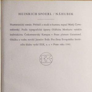 antikvární kniha Náhubek , 1941