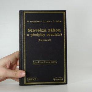 náhled knihy - Stavební zákon a předpisy souvisící