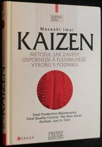 náhled knihy - Kaizen : metoda, jak zavést úspornější a flexibilnější výrobu v podniku