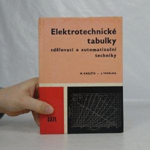 náhled knihy - Elektrotechnické tabulky sdělovací a automatizační techniky