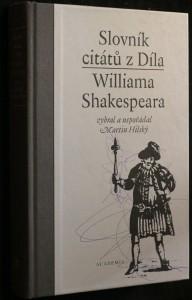 náhled knihy - Slovník citátů z Díla Williama Shakespeara