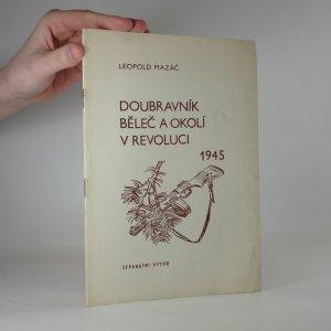 náhled knihy - Doubravník, Běleč a okolí v revoluci 1945