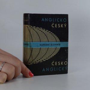 náhled knihy - Anglicko-český a česko-anglický kapesní slovník