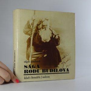 náhled knihy - Sága rodu Budilova. Sto let českého divadla na jevišti i v zákulisí.