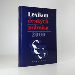 náhled knihy - Lexikon českých právníků 2000