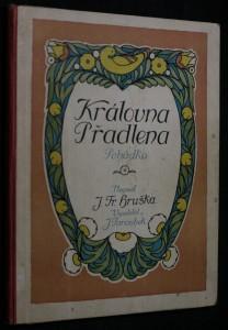 náhled knihy - Královna přadlena : pohádka