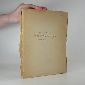náhled knihy - Světová politika v letech 1871-1914 I.