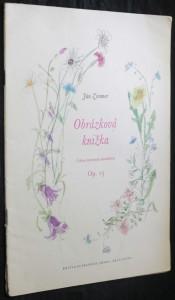 náhled knihy - Obrázková knižka, Cyklus klavírnych skladbičiek