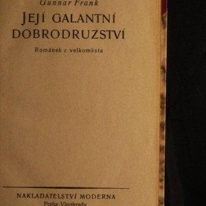 antikvární kniha Její galantní dobrodružství : Románek z velkoměsta, 1922