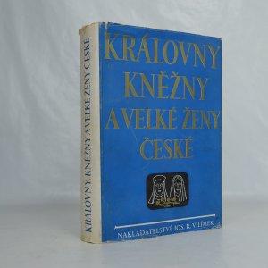náhled knihy - Královny, kněžny a velké ženy české