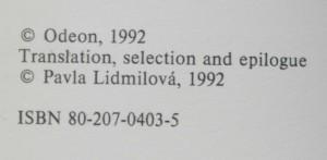 antikvární kniha Kniha neklidu, 1992