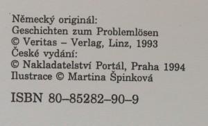 antikvární kniha Příběhy pomáhají s problémy : metodika a 60 příběhů pro mateřské školy,základní školy a rodiče, 1994