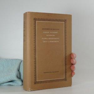 náhled knihy - Farář tourský; Petřička; Flora Brazierová; Črty a portréty