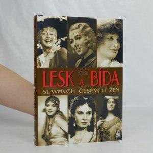 náhled knihy - Lesk a bída slavných českých žen