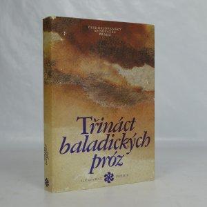 náhled knihy - Třináct baladických próz