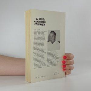 antikvární kniha Ze vzpomínek chirurga, 1989