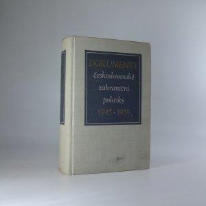 náhled knihy - Dokumenty československé zahraniční politiky 1945-1960