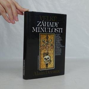 náhled knihy - Velké záhady minulosti