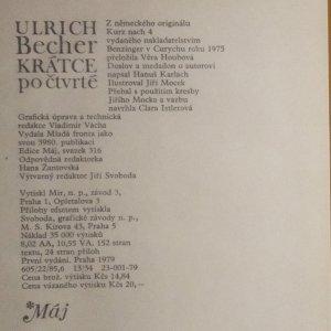 antikvární kniha Krátce po čtvrté, 1979