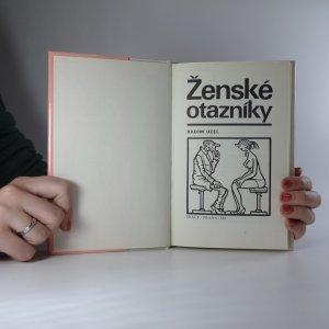 antikvární kniha Ženské otazníky, 1987