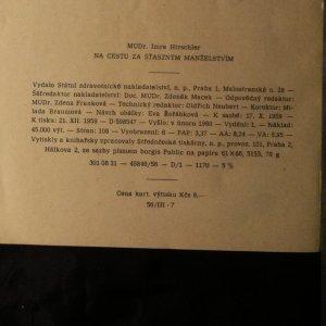 antikvární kniha Na cestu za šťastným manželstvím, 1960