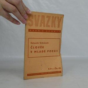 náhled knihy - Člověk v mladé poesii