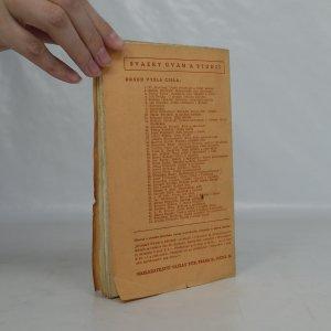 antikvární kniha Člověk v mladé poesii, 1940