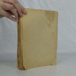 antikvární kniha Zřícené kulisy. Román herečky, 1944